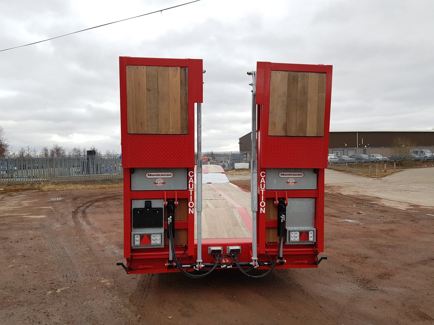 Brand New Montracon Step Frame Machinery Carrier Asset