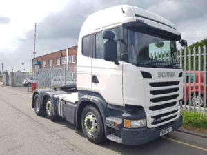 2015 Scania R450 Highline, twin sleeper cab, auto box, midlift, 441,293kms. Freshly repainted.