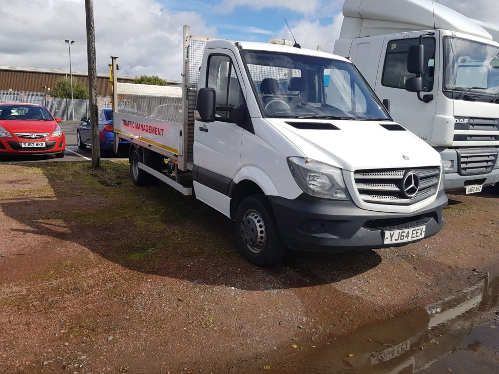 2014 Mercedes-Benz Sprinter 2.2CDi 513 (5000KG). 13ft, Taillift, Twin rear wheel, Manual, Diesel, 97,554 miles. Contact Jim Farrell on 07890 533587 for more information.