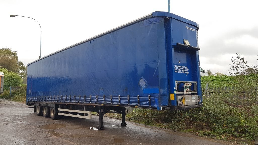2006 Montracon Mega, 2.75m internal height, ROR axles, drum brakes, flush doors, large choice available.
