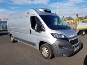 Peugeot Boxer 2.2HDi 130 2014MY Professional 335 L3 H2 insulated fridge van gah unit. 130 BHP, Diesel, Manual, 99,114miles, £8,999 + VAT. Contact Jim Farrell directly on 07890 533587 for more details.