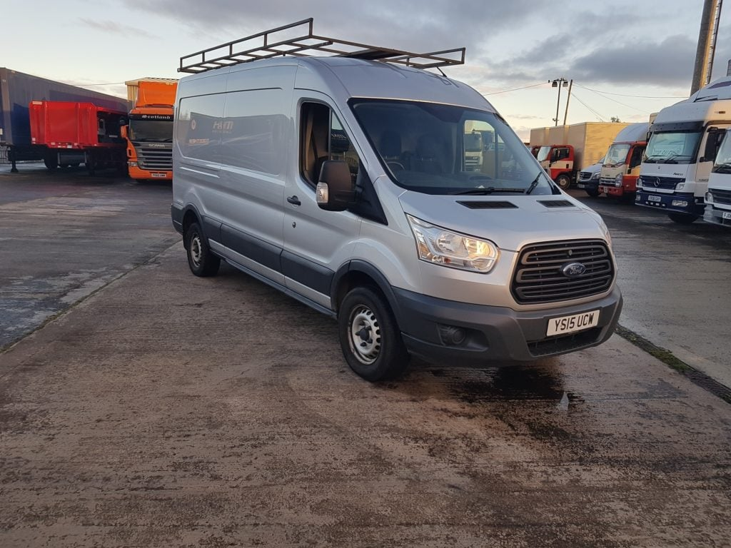 Ford Transit 2.2TDCi (125PS) RWD 350 L3H2 panel van. 123 BHP, Diesel, Manual, 49,100 miles, £10,999 + VAT. Contact Jim Farrell directly on 07890 533587 for more details.