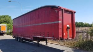 2012 SDC Double Deck Curtain, 4.73m External Height, BPW Axles, Drum Brakes, Keruing Floor, ¾ Fixed Deck, Eco Roof.