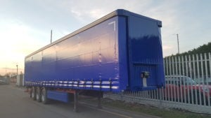 2011 SDC, 4.05m External height, 2.52m Internal Height, SAF Axles Drum Brakes, Flush Doors, Keruing Floor, Refurbished in Blue.