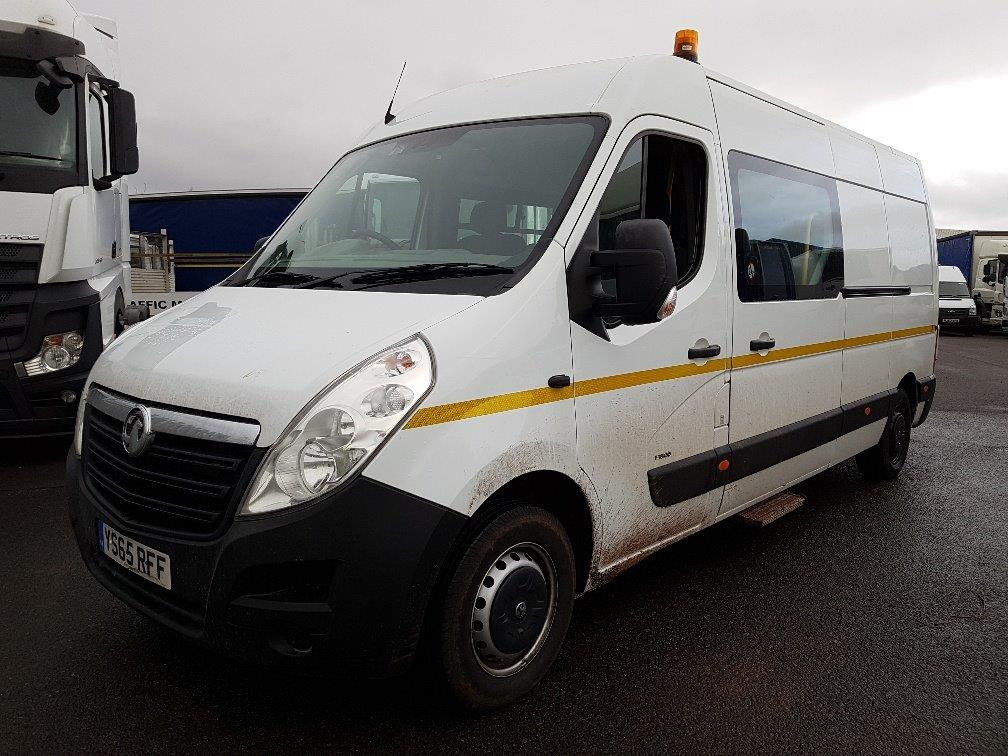 2016 Vauxhall Movano Welfare Van, 2.3CDTI (125PS), 123 BHP, 38.7 MPG, Manual, 41,336 miles, £11,999 +VAT. Please contact Jim for more information on 07890 533587.