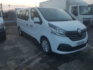 2016 Renault TRAFIC LL29 Sport Energy. 125hp, Manual, 182,334miles, £10,999 + VAT. Please call Jim Farrell directly for more details on 07890 533587.