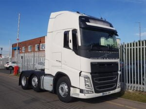 2014 (64) Plate Volvo FH500 GTXL. 500hp, Euro 6, I shift autos, mid lifts, 3.9m wheelbase, twin sleeper Globetrotter cabs, 315/80r22.5, choice of 2 both tested February 2020 and approximately 650,000kms on each.