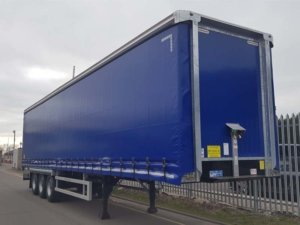 "NEW 2019 Montracon 4.2M ENXL Rated Curtainsiders. Aircraft blue, BPW drum brake axles, ENXL rated bodies, 3 sliding side posts per side, 8'9"" side aperture, 26 internal straps, raise lower valve facility, wisa deck floors, Goodyear tyres, lashing rings, full manufacturer's warranty applies, choice of 3."
