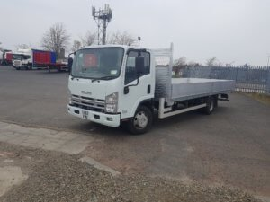 2013 Isuzu Forward N75.190 Dropside Conversion - front right side view