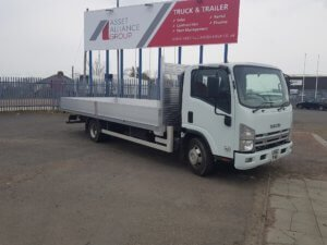 2013 Isuzu Forward N75.190 Dropside Conversion - front side view