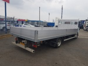 2013 Isuzu Forward N75.190 Dropside Conversion - rear right side view