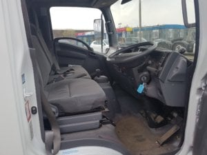 2013 Isuzu Forward N75.190 Dropside Conversion - cab view