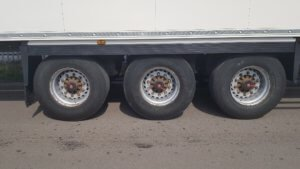 2014 Schmitz single temp fridge - wheels/ tyres view