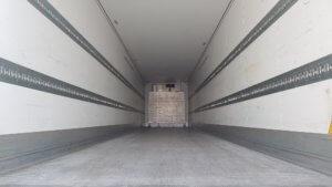 2014 Schmitz single temp fridge - inside view