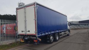 NEW 2019 (19) Plate 2530 Mercedes Actros 26T Curtainsider Tail Lift Rigid. 26 tonne, Euro 6, 300 hp, auto box, Streamspace sleeper cab, 9m freepost curtainsider 2.8m high bodies, barn doors. 2 tonne Anteo tuckunder tail lift, rear lift axle. Full manufacturer's warranty applies. From £311.13 per week over 5 years on a HP agreement.