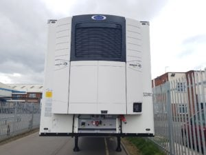 Brand New 2019 Schmitz Single Temp Fridge Trailers. Carrier 1550 single temp units, 2.6m internal aperture, SAF drum brake axles, new style aluminium floor, 2 rows of V7 loadlock rails, raise lower valve facility, Continental tyres.