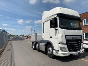 2017 DAF XF460 Superspace. Euro 6, 460bhp, Superspace Twin Sleeper Cab, Auto gearbox.