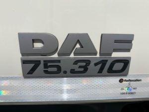 DAF CF75.310. 26 tonne, Euro 5, 310bhp, Manual Gearbox, Single Sleeper, 5.90m Wheelbase, Moffet Kit to rear.