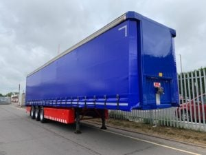 2010 SDC. 4m External Height, 2.51m Internal Height, SAF Axles, Drum Brakes, Flush Doors, Omega Floor, Refurbished in Blue and Fitted with Brand New ENXL Rated Curtains.