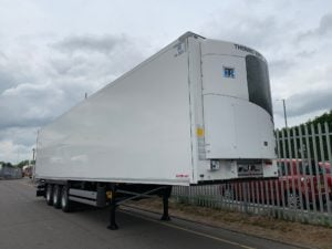Brand New 2019 Schmitz Multi Temp Fridge Trailers. Thermoking SLXi Spectrum, 2.59m Internal Aperture, SAF Drum, Brake Axles, New style Aluminium Floor, 2X rows of V7 loadlock rails, Raise Lower Valve Facility, Continental Tyres.
