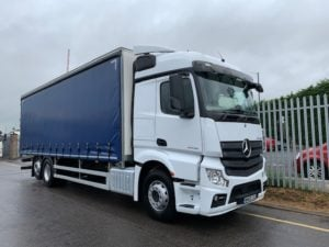 2018 Mercedes. 26 Tonne, Euro 6, 360bhp, Automatic Gearbox, Single Sleeper Cab, 28FT Body.