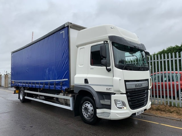2017 (67) DAF CF. Euro 6, 260bhp, 18 Tonne, Automatic Gearbox, 1500KG Dhollandia Tuckaway Tailift, Low Km's, Choice Available.