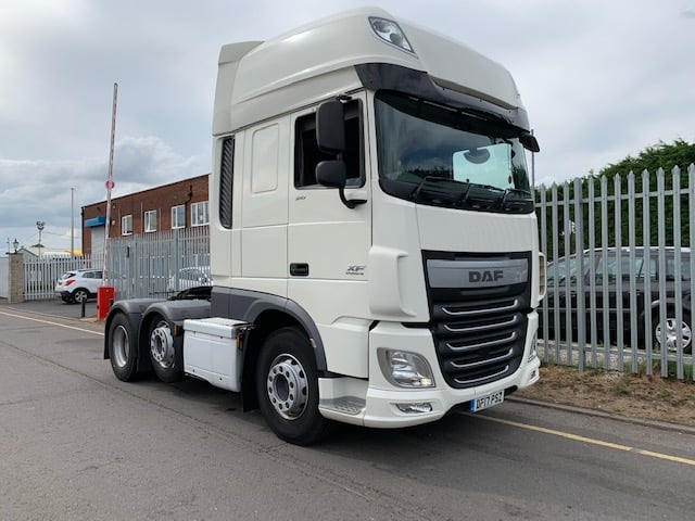 2017 Daf XF. Euro 6, 510bhp, Superspace Twin Sleeper Cab, Automatic Gearbox, Fridge, Low Km's, Choice Available.