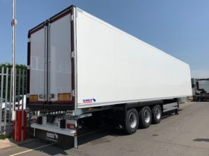 Brand New 2019 Schmitz Multi Temp Fridge Trailers. Carrier Vector 1950 Mt Engine, 2.59m Internal Aperture, SAF Drum, Brake Axles, New style Aluminium Floor, 2X rows of V7 loadlock rails, Raise Lower Valve Facility.