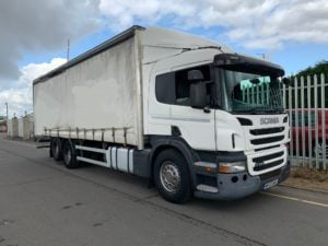 2012 Scania P320. 26 Tonne, Manual Gearbox, Euro 5, Single Sleeper, Reverse Camera System, 28FT Body.