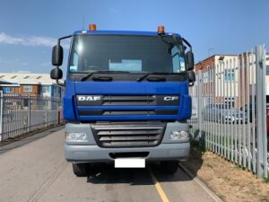 2013 Daf CF 85. 32 Tonne Skiploader, AJK Extendable Equipment, Euro 5, 360bhp, Day Cab, Automatic Gearbox, Reverse Camera Fitted, Steering Wheel Controls.