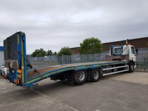 2011 Daf. 26 Tonne, Euro 5, 310bhp, Automatic Gearbox, Day Cab, King Plant Body, Hydraulic Ramp and Winch, Body Length:9.7m.