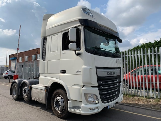 2015 (65) DAF. Euro6, 460bhp, Superspace Twin Sleeper Cab, Automatic Gearbox, Fridge, Choice and Warranty Available.