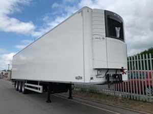 2019 Chereau. Carrier Vector 1950 Mt Engines, 2.6m Internal Height, SAF Axles, Drum Brakes, Resin Floor, Barn Doors.