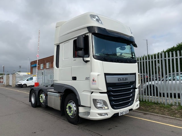 2017 (67) Daf. Euro 6, 460bhp, Superspace Twin Sleeper Cab, Automatic Gearbox, Sun Roof. Choice Available.