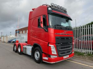 2017 Volvo. Euro 6, Automatic Gearbox, 500bhp, Double Sleeper GTXL Cab, Fridge, 4m Wheelbase, Tag Axle, 291,075km, Excellent condition.