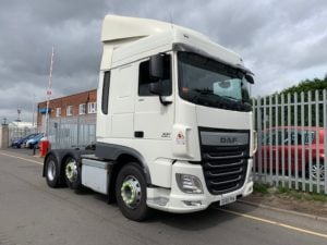 2016 Daf XF. Euro 6, 460bhp, Superspace Twin Sleeper Cab, Automatic Gearbox, 351,092km, Ali Catwalk Infill Panels, Excellent condition and Choice available.