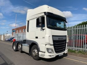 2016 (66) Daf. Euro 6, 460bhp, Superspace Twin Sleeper Cab, AS Tronic Automatic Gearbox, 3.95m Wheelbase, Mid-Lift Axle, Steering Wheel Controls, Aluminium Catwalk Infill Panels, 334,517km, Excellent Condition & Choice Available.