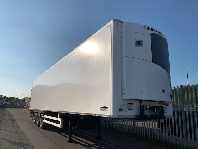 2019 Chereau. Thermoking SLXi Spectrum Engine, 2.6m Internal Height, SAF Axles, Drum Brakes, Resin Floor, Barn Doors, 2 x Load Lock Rails.