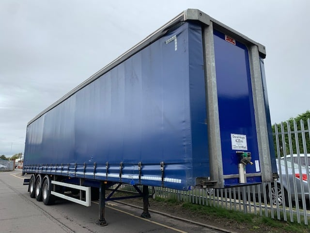 2016 SDC. 4.2m External Height, 2.67m Internal Height, SAF Axles, Drum Brakes, Wisa Deck Floor, Barn Doors, 4 x Side Posts, Raise Lower Valve Facility.