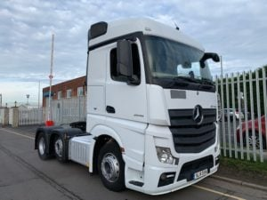 2014 Mercedes Actros. Euro 6, 450bhp, Streamspace Single Sleeper Cab, Power Shift Semi Automatic Gearbox, Steering Wheel Controls, Warranty & Choice Available.