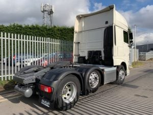 2017 Daf XF. Euro 6, 510bhp, Superspace Twin Sleeper Cab, AS Tronic Automatic Gearbox, Steering Wheel Controls, Aluminium Catwalk Infill, 190,992km, Colour Coded, Warranty & Choice Available.