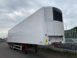 2019 Gray & Adams Single Temp Fridge Trailer. Carrier Vector 1550 Engine, 2.59m Internal Height, BPW Axles, Drum Brakes, Resin Floor, Barn Doors, Full Manufacturers Warranty applies.