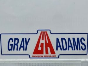 2019 Gray & Adams Single Temp Fridge Trailer. Carrier Vector 1550 Engine, 2.59m Internal Height, BPW Axles, Drum Brakes, Resin Floor, Barn Doors, Full Manufacturers Warranty applies.