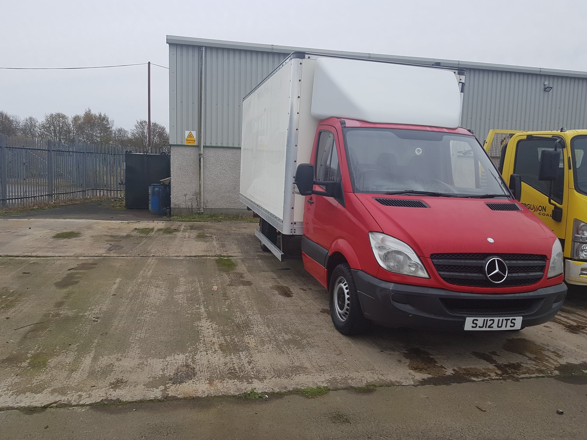 2012 Mercedes Sprinter 2.1TD 313 CDI LWB, 15ft Boxvan, Manual Gearbox, 153,443 Miles, Anti-Lock Brakes (ABS), Driver Airbag, Immobiliser, AM/FM Stereo, CD Player, Cruise Control, Power-assisted Steering (PAS), First Registration: 30/04/2012.