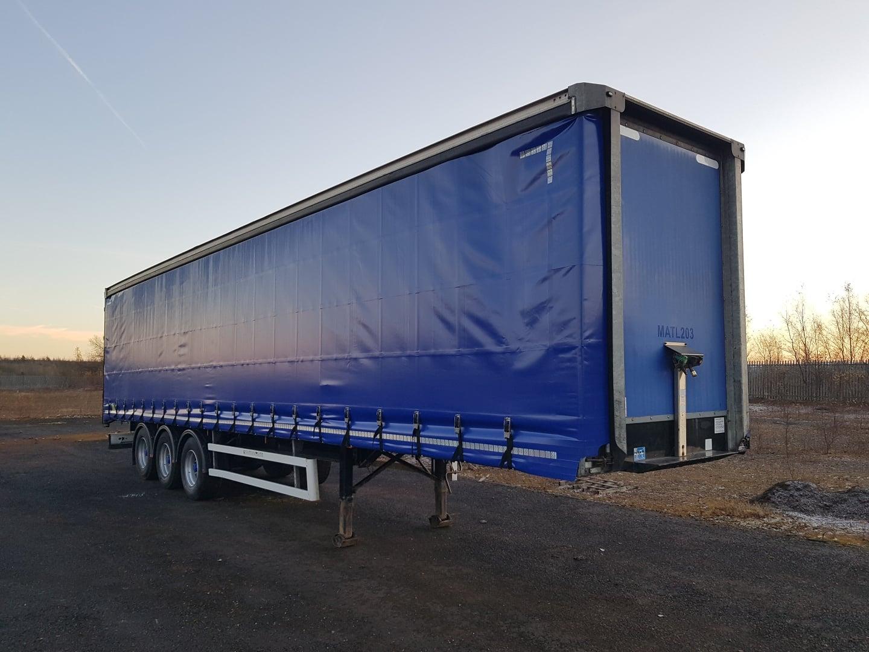 2012 Montracon 4.2m Curtainsider. Brand new ENXL rated curtains, BPW drum brake axles, 2 sliding side posts per side, 2.66m side aperture, 26 internal straps, wisa deck floor, raise lower valve.