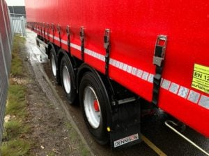 2017 Dennison Curtainsider. 4.30m External Height, 2.76m Internal Height, SAF Axles, Drum Brakes, Keruing Floor, Flush Doors, 2 x Side Posts, Raise Lower Valve Facility. Supplied with Brand New Red ENXL Rated Curtains.
