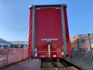 2017 Montracon Curtainsider. 4.7m External Height, 3.20m Internal Height, BPW Axles, Drum Brakes, Wisa Deck Floor, Barn Doors, Raise Lower Valve Facility.