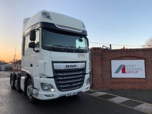 2017 Daf XF Tractor Unit. Euro 6, 480bhp, Superspace Twin Sleeper Cab, AS Tronic Automatic Gearbox, Steering Wheel Controls, Aluminium Catwalk Infill Panels, Mid-Lift Axle, Choice & Warranty Available.