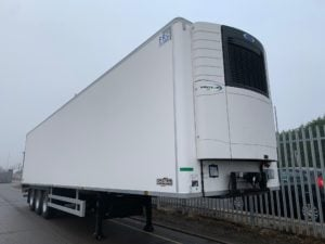 2019 Chereau Single Temp Fridge Trailer. Carrier Vector 1550 Units, 2.6m Internal Height, SAF Axles, Drum Brakes, Resin Floor, Barn Doors, 2 x Load Lock Rails, Full Manufacturers Warranty Applies.