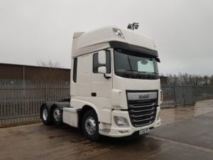 2016 (66) DAF XF. Euro 6, 510bhp, Superspace Twin Sleeper Cab, AS Tronic Automatic Gearbox, Steering Wheel Controls, Aluminium Catwalk Infill Panel, Dual Liner Hydraulics for Tippers or Walking Floors. Choice & Warranty Available.
